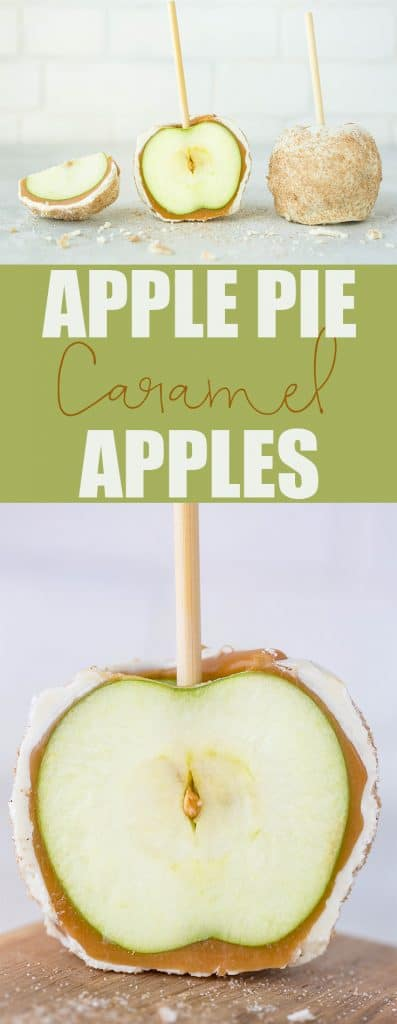 Rocky Mountain Chocolate Factory Apple Pie Caramel Apples | Salt & Baker
