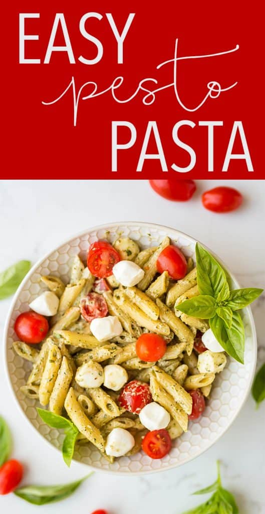 Easy Pesto Pasta | Salt & Baker