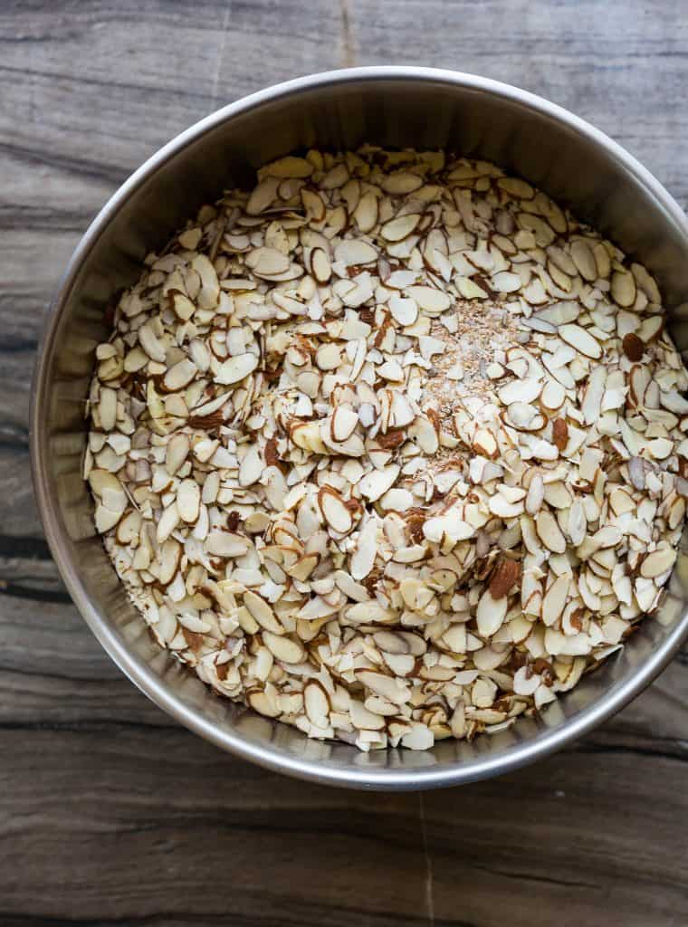 This healthy, homemade granola is just what you've been looking for! The flavor is warm, rich, and oh-so satisfying. Not to mention the texture is perfection.