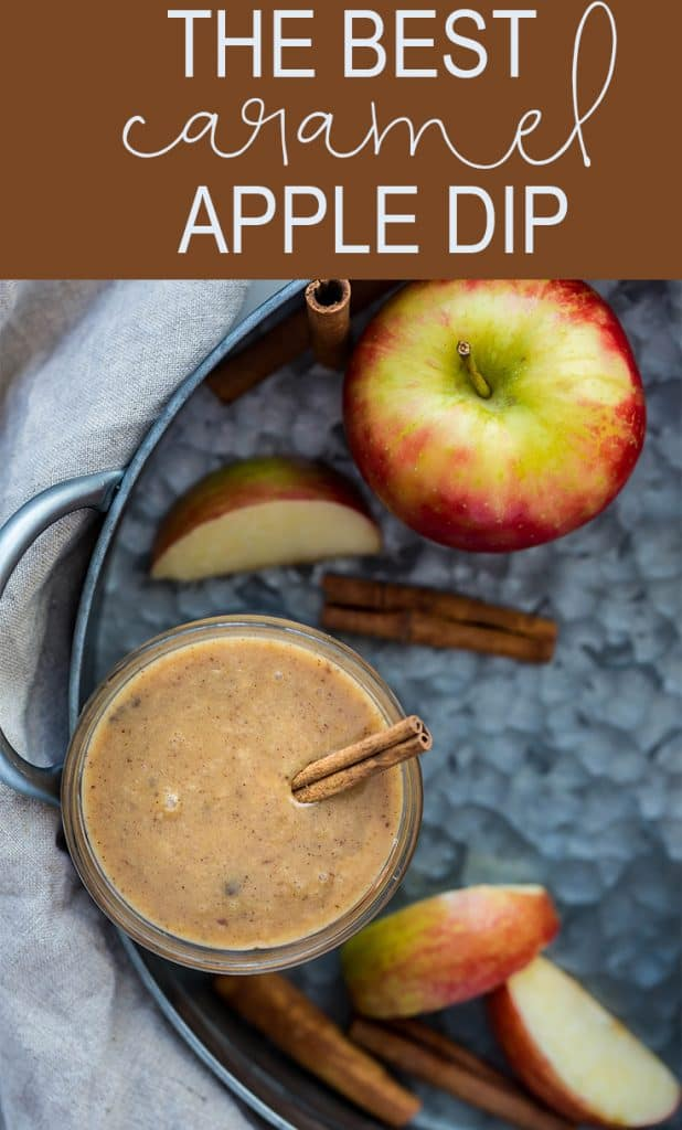 The BEST Caramel Apple Dip!