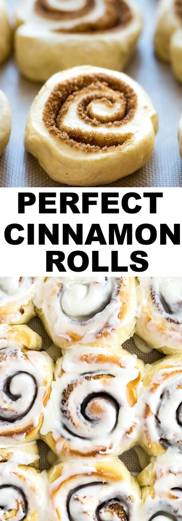 The most AMAZING cinnamon rolls!!