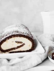 Ice Cream Cake Roll.
