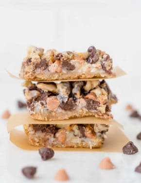 The BEST 7 Layer Bars ever! These bars are beautifully rich and oh so addicting!