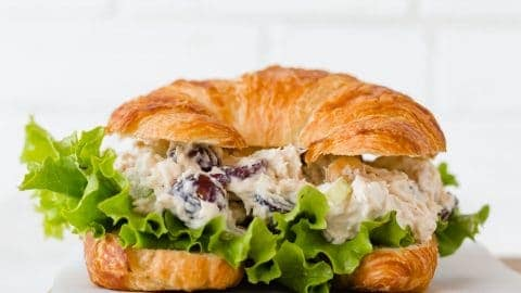 The Best Chicken Salad Sandwich Recipe Salt Baker