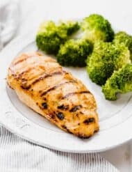 The most delicious Italian Marinated Grilled Chicken. It's so easy to make, your family and guests will rave about this!
