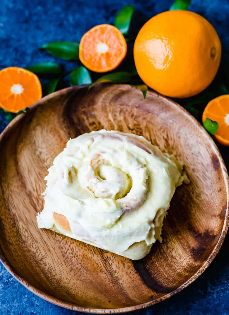 Perfectly frosted orange sweet rolls. These orange rolls are bursting with orange flavor! They are the perfect addition to any breakfast, brunch, or party!