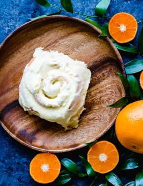 Moist, fluffy, and delicate orange rolls topped with an orange infused frosting! These rolls are easy to make and so delicious!
