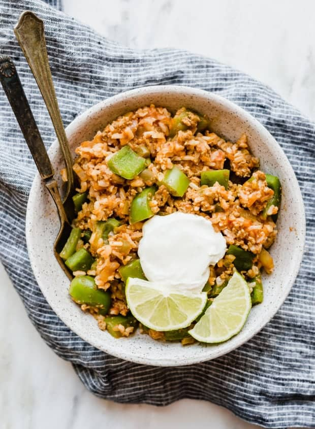 This Reverse Stuffed Peppers and Brown Rice Bowl will become your new go-to meal! It's super healthy, easy to make, and doesn't require any special ingredients!