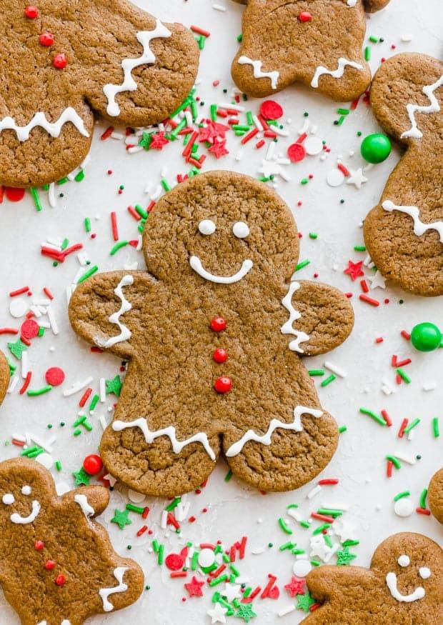 Soft Gingerbread Cookies Salt Baker