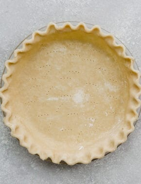 A perfect pie crust made with the food processor.
