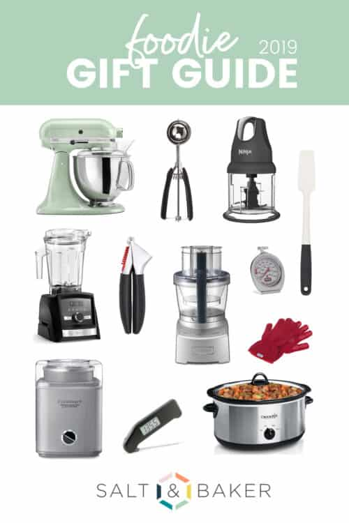 A photo collage of kitchen appliances.