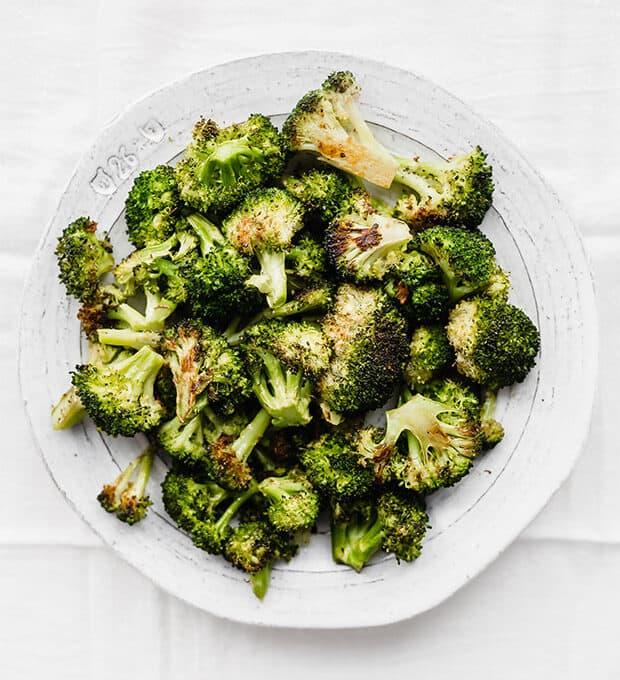 Easy Oven Roasted Broccoli Salt Amp Baker