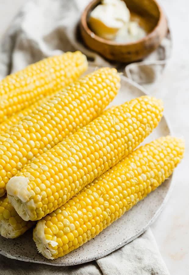 Sweet Boiled Corn How To Boil Corn Perfectly Salt Baker