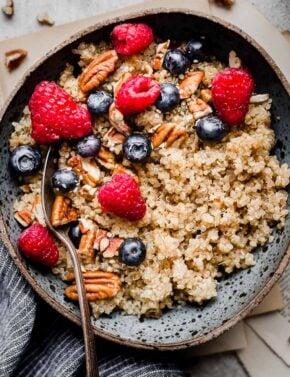 Quinoa Oatmeal