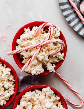 Candy Cane Popcorn Crunch