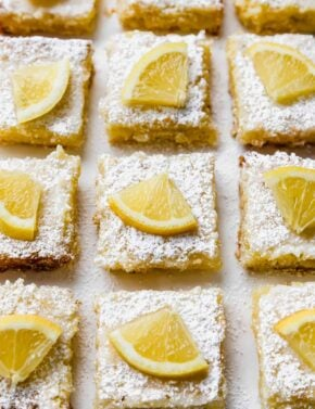 Easy Lemon Bars Recipe