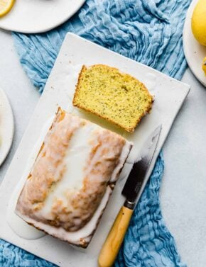 Easy Lemon Poppy Seed Bread