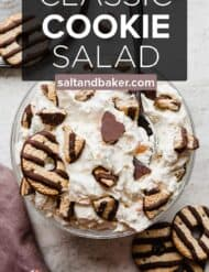 A bowl full of classic cookie salad.